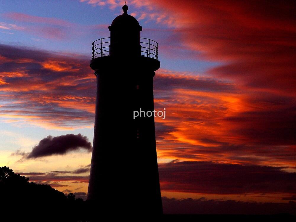 Australia Tasmania Light-House by photoj