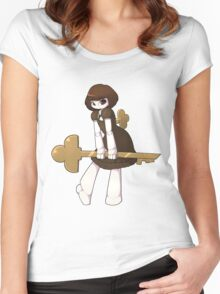 Copper Key Women's Fitted Scoop T-Shirt