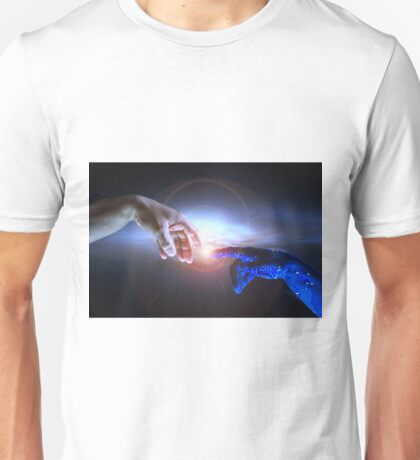 Artificial Intelligence Concept AI and Humanity Unisex T-Shirt