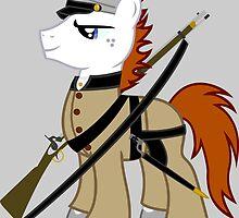 MLP Civil war soldier by Blocks54