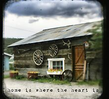 Home is where the heart is - Fine Art Viewfinder Photograph by HighlandGhillie