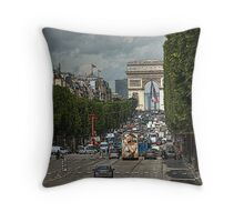 Champs de Ellesse Throw Pillow