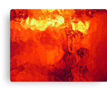 Abstract Heat Canvas Print