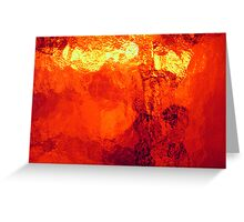 Abstract Heat Greeting Card