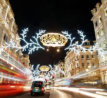 Regent Street London by Ludwig Wagner