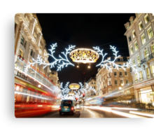 Regent Street London Canvas Print