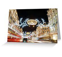 Regent Street London Greeting Card