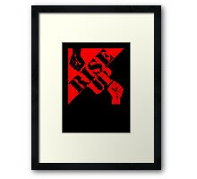 Anarchy - Rise Up! Framed Print