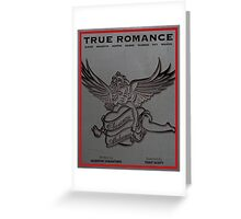 True Romance Vintage Movie Poster Greeting Card