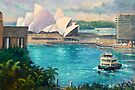 Opera House, Sydney Harbour by marshstudio