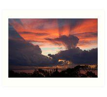 more than a sunset Art Print