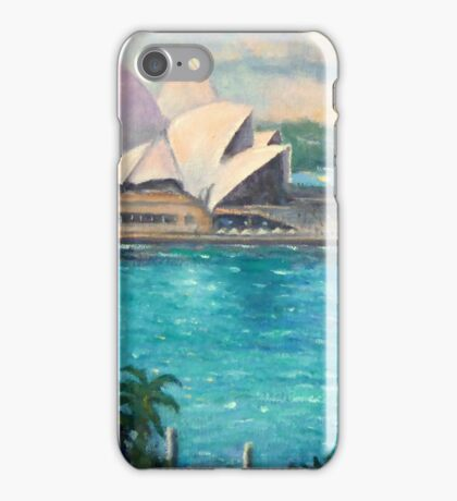 Opera House, Sydney Harbour iPhone Case/Skin