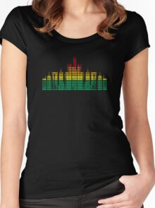 City of Sound Women's Fitted Scoop T-Shirt