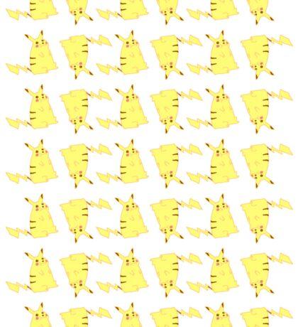 pikachu pattern Sticker