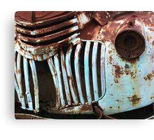 Rusty Details Canvas Print