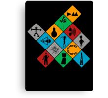 Depeche Mode : Logo Tribute 2 - Color Canvas Print