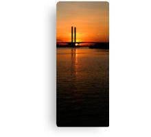 Bolte  Bridge Sunset Canvas Print