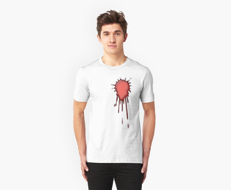Blood Tee by quigonjim