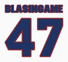 National baseball player Wade Blasingame jersey 47 by imsport