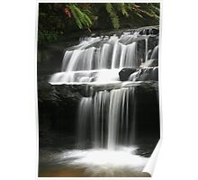 Leura Cascades - Serenity, Blue Mountains, NSW Poster