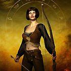 Sagittarius Zodiac Fantasy by Britta Glodde