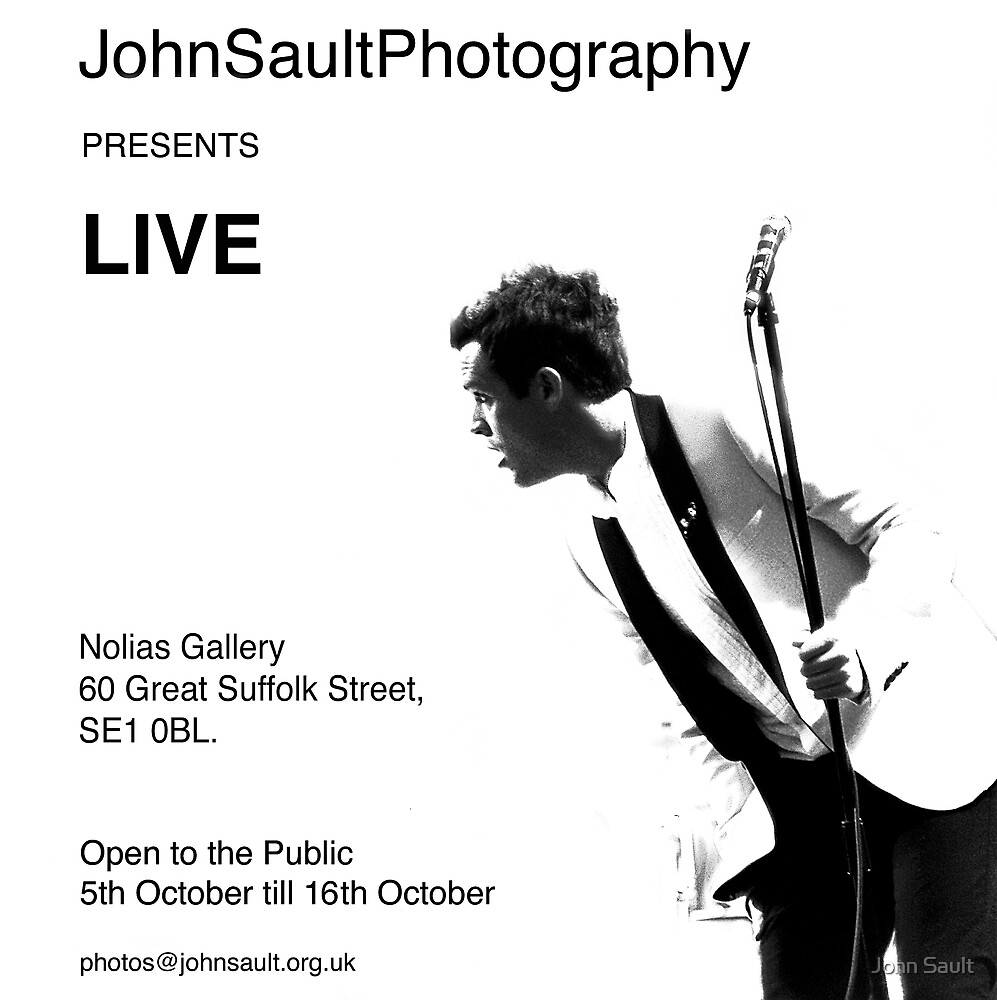 Exhibition by John Sault