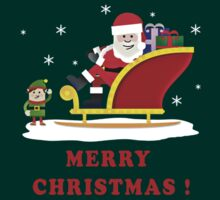 SANTA CLAUS, MERRY CHRISTMAS by giftshop