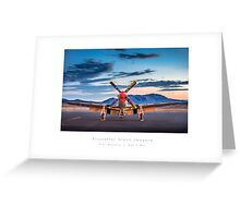 "P-51 Mustang ""Man-O-War"" Greeting Card"