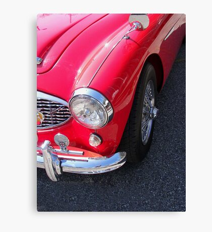Retro Red Canvas Print