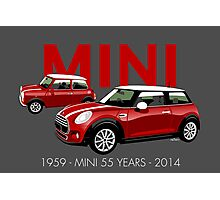 Mini 55th anniversary Photographic Print
