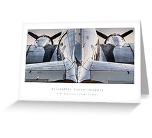 "C-47 Skytrain  ""Texas Zephyr"" Greeting Card"