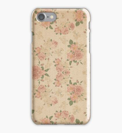 Vintage Lily Ten iPhone Case/Skin