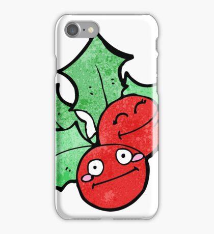 cartoon holly iPhone Case/Skin