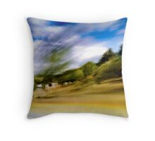 Fast Lane Throw Pillow