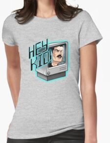 HEY KID! I'M A COMPUTER! Womens Fitted T-Shirt