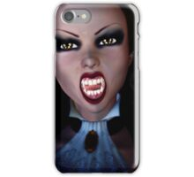 Vampire in the dark iPhone Case/Skin