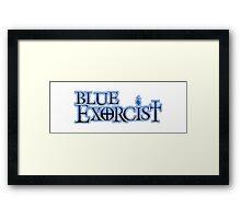 Blue Exorcist Logo Framed Print