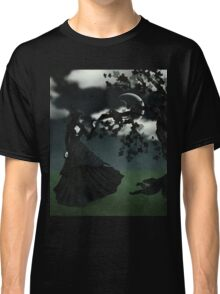 Woman in black 2 Classic T-Shirt