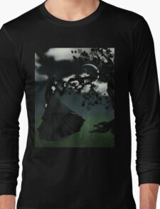 Woman in black 2 Long Sleeve T-Shirt