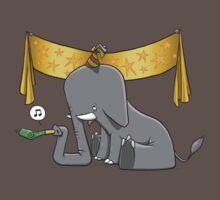 Party Elephant One Piece - Short Sleeve