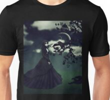 Woman in black 3 Unisex T-Shirt