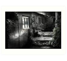 Softening the edges of decay Art Print