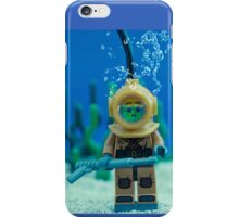 Lego Deep Sea Diver iPhone Case/Skin