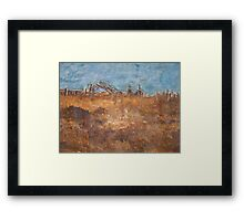 Battlefield Framed Print