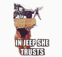 In Jeep She Trusts by rendess