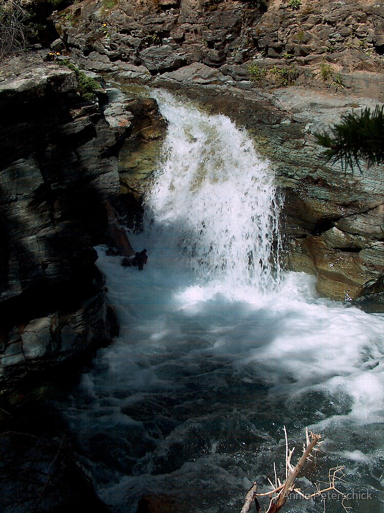 Gorge Water Fall 12 by Annie Peterschick