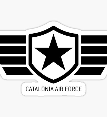 Catalonia Air Force Badge Sticker