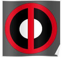 Classic Deadpool Icon  Poster