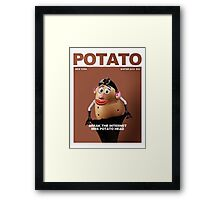 Potato Kim Framed Print