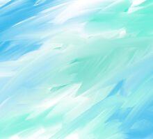 blue-green sea by DanniMichelle